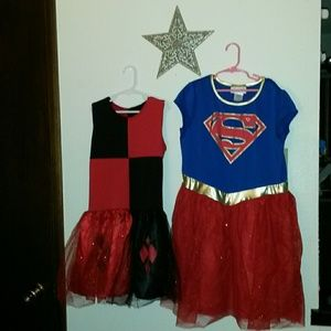 Other - Girls L/XL set of Super Hero costumes!!